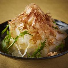 料理メニュー写真水菜と大根の和風サラダ