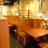 1Fテーブル席は少人数の飲み会にオススメ