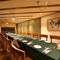潮州 会議の後の懇親会、法要、会食、同窓会など、20名様までのお部屋です
