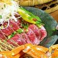 料理メニュー写真桜肉のお刺身(馬刺)