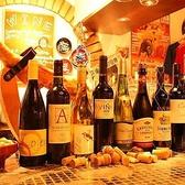 カウンターには各種ワインをご用意