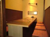 1組限定の8名個室。完全個室なので、プライベート感たっぷり。接待等におススメです。
