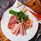 〔冷菜〕イタリアンハムの盛り合わせ