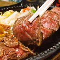 【がんこ】の名物と言えばやっぱり肉厚のステーキ!!