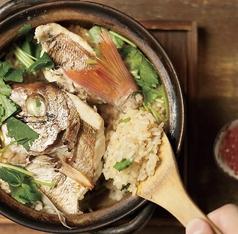 料理メニュー写真季節の釜焚き土鍋飯