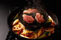 厳選国産羊肉のジンギスカンと特製羊骨スープ鍋