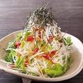 料理メニュー写真しらすと大根の和風サラダ