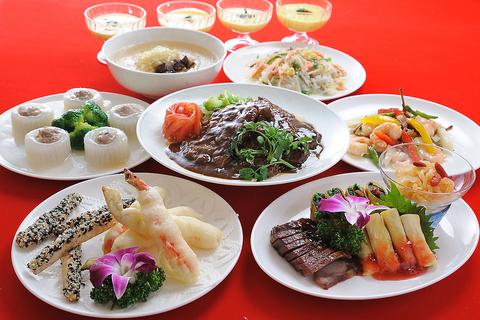 本格広東料理をお手頃価格で提供。楽しい時間をお過ごしください。
