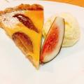 料理メニュー写真いちじくタルトとバニラアイス(Fig Tarte)