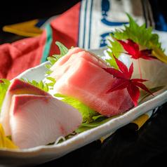 料理メニュー写真海鮮刺身3種盛り