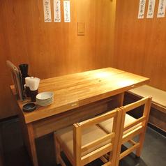 お仕事帰りに♪サク飲みにも最適なテーブル席を豊富にご用意◎