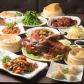 【各種ご宴会に◎ 様々なコースあり!】池袋駅徒歩1分とアクセス抜群の「中華料理屋」。当店自慢の料理をお得に楽しめるコースを各種ご用意しております。作り立てのお料理を楽しめるテーブルオーダー式の食べ放題コースや、お料理のみのコース等種類は様々!お客様の利用シーン・予算に合わせてご予約ください。