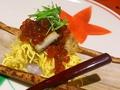 料理メニュー写真秋の蒸し寿司