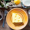 本格的なイタリアンから可愛い自家製のチーズケーキ♪
