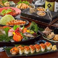 旬の海鮮をふんだんに使用した宴会プランをご用意!