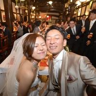 結婚式二次会やレストランウェディングにも♪