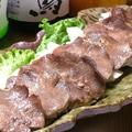 料理メニュー写真牛タン自家製葱塩ダレ焼