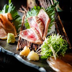 料理メニュー写真鶏屋の肉刺し3種盛り
