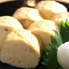 料理メニュー写真出し巻き玉子~北海道産地鶏の濃厚玉子