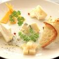 料理メニュー写真チーズ3種盛