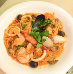 料理メニュー写真漁師と海女さんのスパゲティ