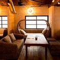 ソファー席完備♪ゆったりとカフェ使いにも。