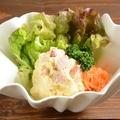 料理メニュー写真本日の自家製ポテトサラダ