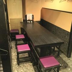 最大7名様までご利用可能♪仲良くテーブルを囲んで、め組こだわり料理を楽しんでいてはいかがでしょうか?