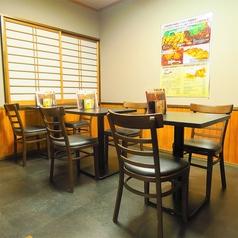 宴会利用も可能のテーブル席もございます。最大8名様までご利用可能です!