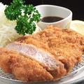 料理メニュー写真黒豚とんかつ(ロース肉)