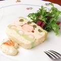 料理メニュー写真オマールとずわい蟹の海の幸のテリーヌ