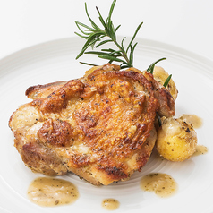 鶏もも肉のソテー ~ガーリックバターソース~