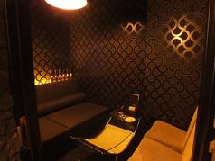 個室あります!4名様用席になっております。ご利用希望の方はご予約頂くと確実です。(チャージ料:1000円)