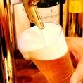 暑い季節はビールをぐいっと流し込むのが◎夏にぴったりのビールに合うお料理も多数ご用意しております!【都町/居酒屋/2次会/大分/宴会/女子会/飲み/飲み放題】