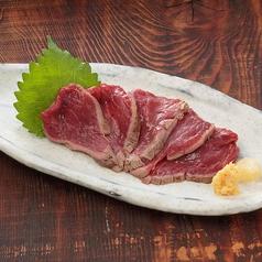 料理メニュー写真桜肉の炙り刺し
