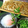 料理メニュー写真塩鯖炙り焼き/竹筒つくね焼き