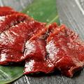 料理メニュー写真北海道知床産エゾ鹿/もも