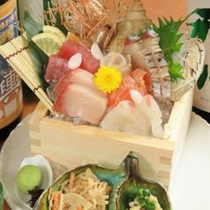 料理メニュー写真【厳選】 鮮魚の五合枡盛り <2人前>