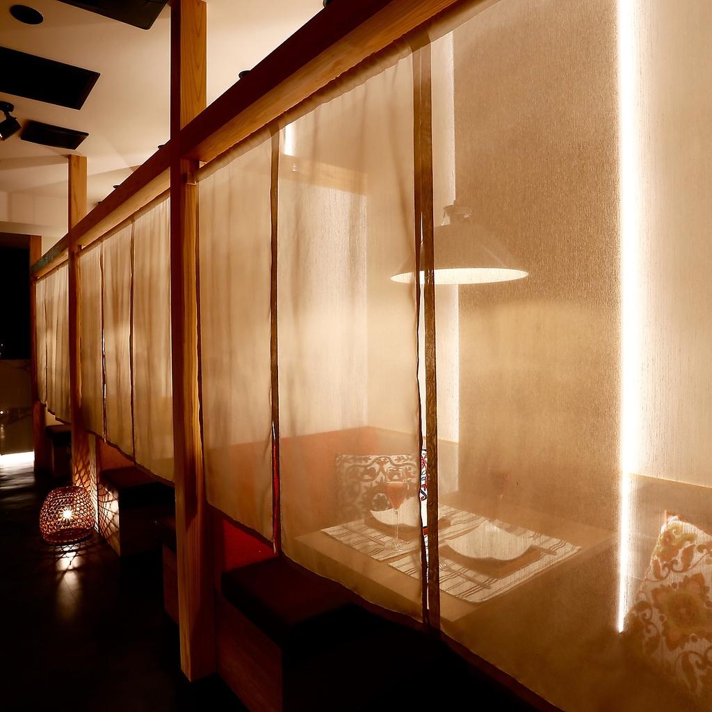 全席個室 お忍び居酒屋 焼き鳥と海鮮が美味い もぐもぐ 高松瓦町店|店舗イメージ6