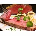 料理メニュー写真お肉の味を堪能できる厳選されたアメリカンビーフのロースト&ポンムフリット