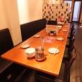 貸切OK!~10数名様まで可能なテーブル席もご用意ございます。