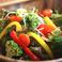料理メニュー写真彩り野菜の恵サラダ