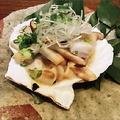 料理メニュー写真(北海道)活ホタテのバター醤油焼