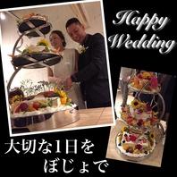 Wedding2次会利用も大歓迎♪35名様~貸切OK!