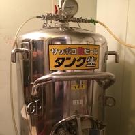 国分町唯一!?サッポロビール仙台工場直送の生ビール!