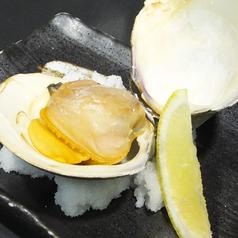 料理メニュー写真ホンビノス貝の浜焼き/ホンビノス貝の酒蒸し
