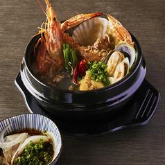 """韓国貝鮮鍋 """"チョゲチョンゴル"""" 一人鍋サイズ"""