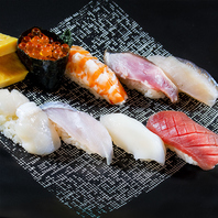 新鮮なネタとシャリのバランスが絶妙な「旨い鮨」