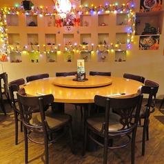 5名~最大10名様で囲んでいただける円卓♪ 飲み会やご友人との集まりに最適です!