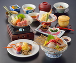 期待を裏切らない季節料理と上質なサービス、全国から直送される鮮魚も自慢!!